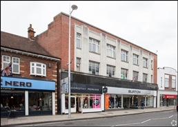 3,723 SF High Street Shop for Rent  |  12 - 16 High Street, Walton On Thames, KT12 1DA