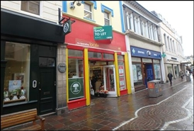 2,293 SF High Street Shop for Rent  |  64 King Street, Jersey, JE2 3RR