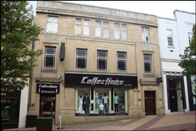 913 SF High Street Shop for Rent  |  5 Regent, Mansfield, NG18 1ST