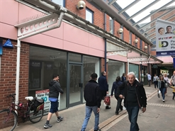 1,206 SF Shopping Centre Unit for Rent  |  Unit 38, Grantham, NG31 6NN