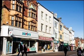 1,530 SF High Street Shop for Rent  |  80 Newborough, Scarborough, YO11 1ET