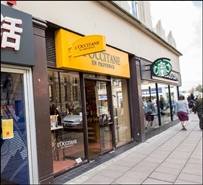 758 SF High Street Shop for Rent  |  3 Promenade, Cheltenham, GL50 1LR