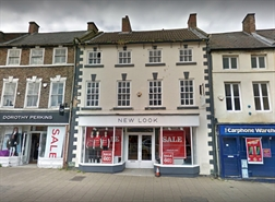 2,766 SF High Street Shop for Rent  |  206 High Street, Northallerton, DL7 8LJ
