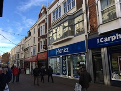 1,050 SF High Street Shop for Rent  |  27-28 St Mary Street, Weymouth, DT4 8PN