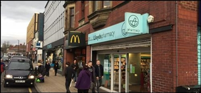1,551 SF High Street Shop for Rent  |  41 Standishgate, Wigan, WN1 1UP