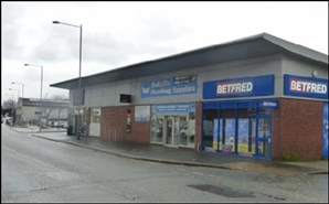 1,370 SF High Street Shop for Rent  |  Unit 2, Manchester, M26 3BS