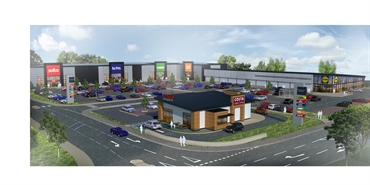 10,000 SF Retail Park Unit for Rent  |  Unit C, Imperial Retail Park, Eastern Avenue, Lichfield, WS13 6AY