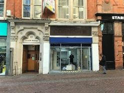 378 SF High Street Shop for Rent  |  12 Cherry Street, Birmingham, B2 5AR