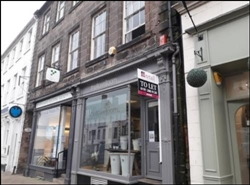 378 SF High Street Shop for Rent  |  18 Hide, Berwick Upon Tweed, TD15 1AB