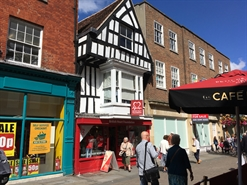 626 SF High Street Shop for Rent  |  40 High Street, Salisbury, SP1 2NT