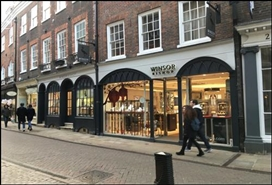 1,234 SF High Street Shop for Rent  |  29 - 30 Trinity Street, Cambridge, CB2 1TB