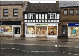 1,172 SF High Street Shop for Rent  |  27 High Street, St Neots, PE19 1JA