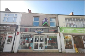 520 SF High Street Shop for Rent  |  24 Queen Street, Neath, SA11 1DL
