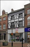 681 SF High Street Shop for Rent  |  17 Ironmarket, Newcastle Under Lyme, ST5 1RF