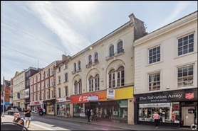 5,414 SF High Street Shop for Rent  |  23 - 23A Gold Street, Northampton, NN1 1RA