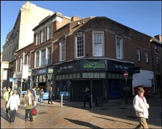 727 SF High Street Shop for Rent  |  4 Dudley Street, Wolverhampton, WV1 3EN