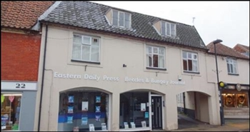 245 SF High Street Shop for Sale  |  18-20 Blyburgate, Beccles, NR34 9TB
