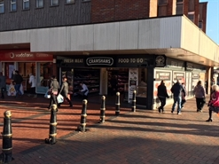 753 SF High Street Shop for Rent  |  2 Market Hall Street, Cannock, WS11 1EB
