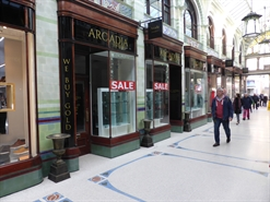 419 SF Shopping Centre Unit for Rent  |  9 Royal Arcade, Norwich, NR2 1NQ
