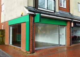 625 SF High Street Shop for Rent  |  1, Rufus Court, Eastleigh, SO53 2GG