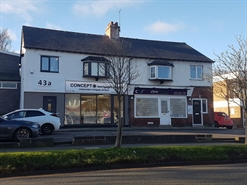 426 SF High Street Shop for Sale  |  45 Telegraph Road, Heswall, CH60 0AD