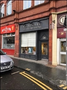 223 SF High Street Shop for Rent  |  Guildhall Building, Birmingham, B2 4DG