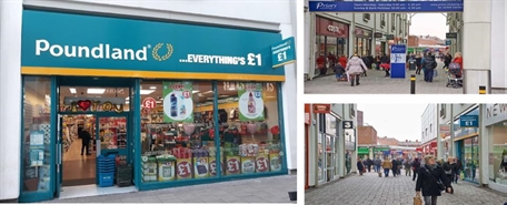 2,938 SF Shopping Centre Unit for Rent  |  Unit 14 The Priory Shopping Centre, Worksop, S80 1JR
