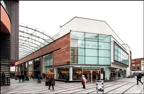 646 SF Shopping Centre Unit for Rent  |  UNIT LS8 Princesshay, Exeter, EX1 1EU