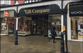 916 SF High Street Shop for Rent  |  193 Lord Street, Southport, PR8 1PF