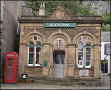 760 SF High Street Shop for Rent  |  Former Lloyds Bank, Settle, BD24 9EJ