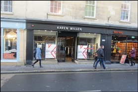 1,052 SF High Street Shop for Rent  |  6 New Bond Street, Bath, BA1 1BE