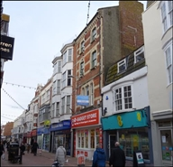 711 SF High Street Shop for Rent  |  30 St Mary Street, Weymouth, DT4 8PN