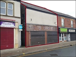 1,284 SF High Street Shop for Rent  |  48 - 50 Market Street, Heywood, OL10 1HX