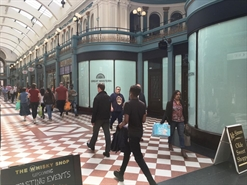 1,065 SF High Street Shop for Rent  |  Unit 32-33, Great Western Arcade, Birmingham, B2 5HU