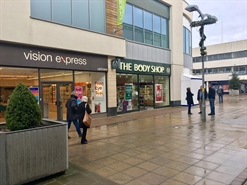 625 SF Shopping Centre Unit for Rent  |  Henley House, Corby, NN17 1NL