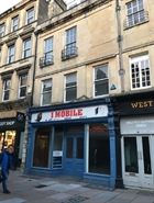 811 SF High Street Shop for Rent  |  3 Burton Street, Bath, BA1 1BN