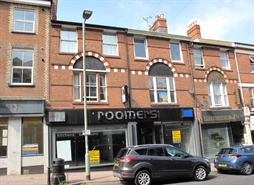 1,965 SF High Street Shop for Sale  |  40 - 42 Rolle Street, Exmouth, EX8 2SH