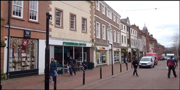 1,325 SF High Street Shop for Rent  |  64 Scotch Street, Carlisle, CA3 8PN