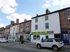 1,126 SF High Street Shop for Rent  |  14/16 Market Place, Thirsk, YO7 1LB