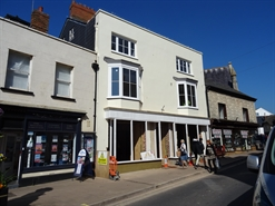 1,700 SF High Street Shop for Rent  |  49 High Street, Sidmouth, EX10 8LN