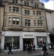 925 SF High Street Shop for Rent  |  59 - 61 Cornmarket Street, Oxford, OX1 3HB