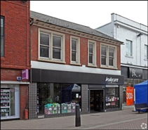 2,406 SF High Street Shop for Rent  |  23 - 25 Midland Road, Bedford, MK40 1PL