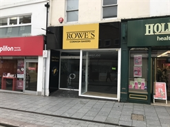 1,130 SF High Street Shop for Rent  |  26 Union Street, Torquay, TQ2 5PW