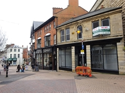 230 SF High Street Shop for Rent  |  19 Market Street, Mansfield, NG18 1JG