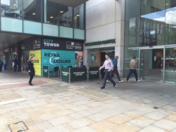 1,600 SF High Street Shop for Rent  |  Unit E2a, City Tower, Manchester, M1 4AH