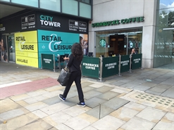 1,627 SF High Street Shop for Rent  |  Unit E2b, City Tower, Manchester, M1 4AH
