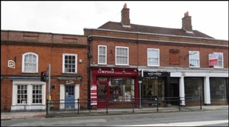 300 SF High Street Shop for Rent  |  2 South Street, Farnham, GU9 7RP