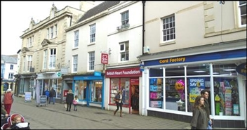 651 SF High Street Shop for Rent  |  21 The Brittox, Devizes, SN10 1AJ