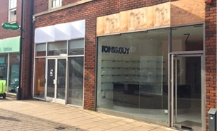 828 SF High Street Shop for Rent  |  Unit 8, Castle Walk, Newcastle Under Lyme, ST5 1AN