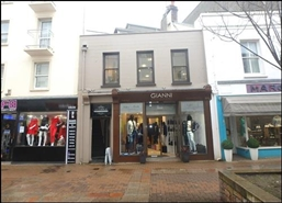 725 SF High Street Shop for Rent  |  21 Bath Street, Jersey, JE2 4ST